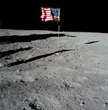 U.S. Flag on the Moon