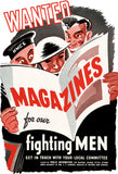 Wanted: Magazines for our Fighting Men