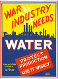 War Industry Needs Water