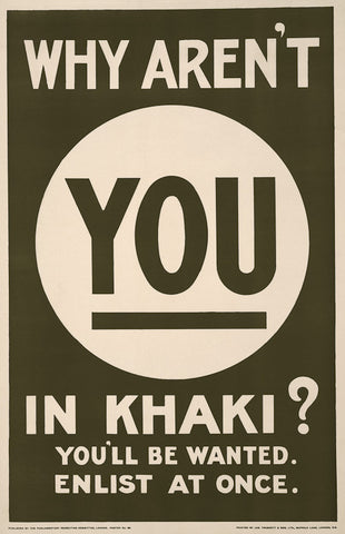 Why Aren't You in Khaki?