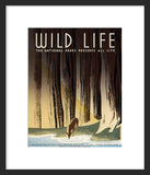 Wild Life: The National Parks Preserve All Life framed poster
