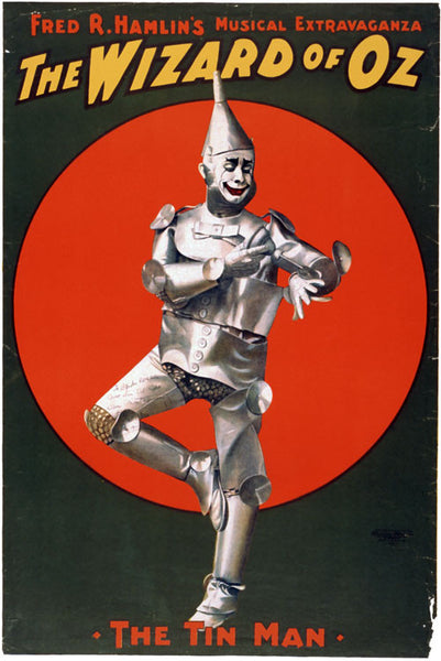 The Wizard of Oz Tin Man Poster