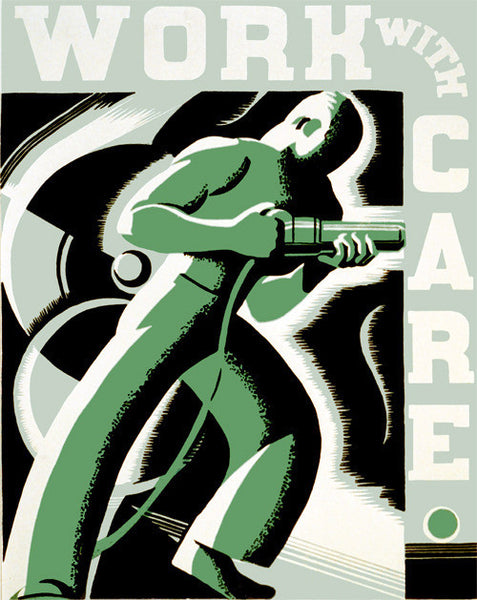 Work With Care poster