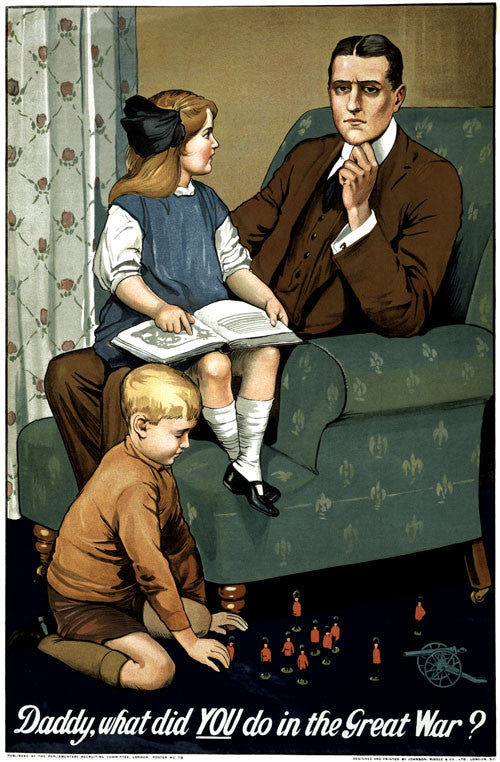 Daddy -- What Did You Do in the Great War?