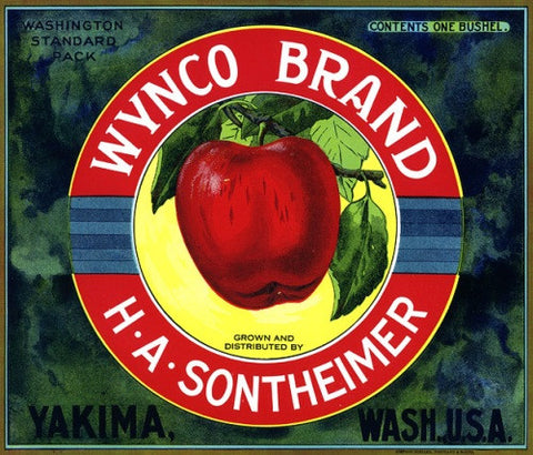Wynco Brand Apples