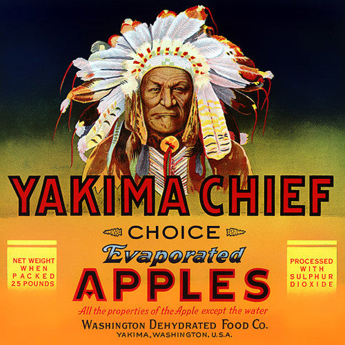 Yakima Chief Evaporated Apples - c. 1940s