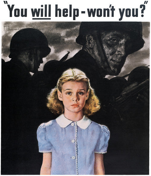 You Will Help -- Won't You?