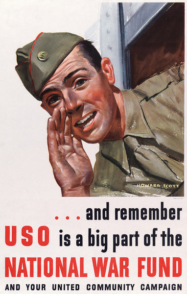 USO is a Big Part of the National War Fund