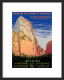 Zion National Park framed poster