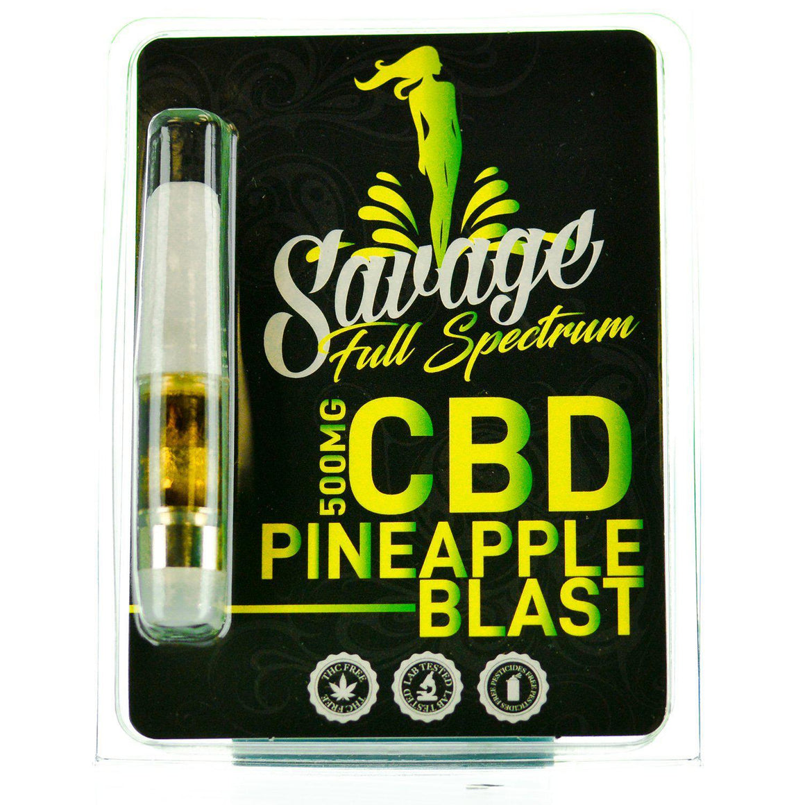 Savage CBD Full Spectrum Cartridge | AndHemp.com