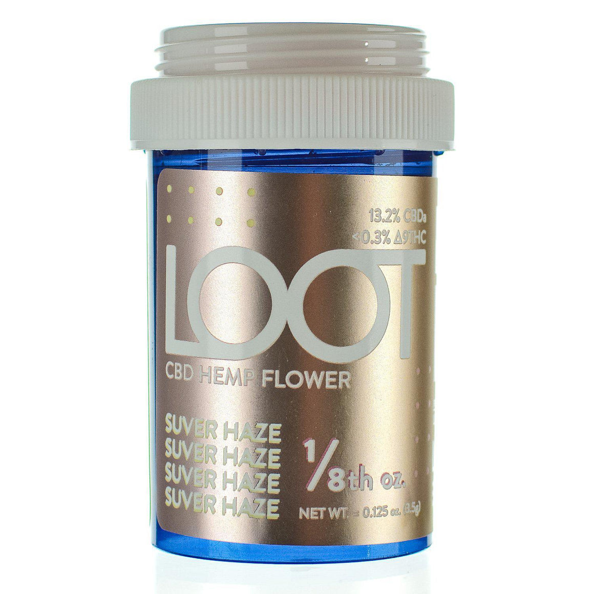 Loot CBD Hemp Flower Suver Haze | Andhemp.com