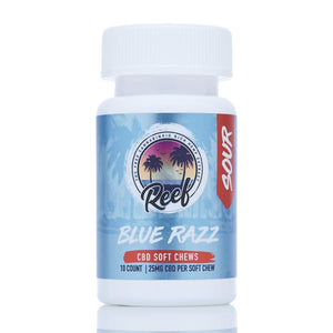 Reef CBD Gummies - Blue Razz Sour