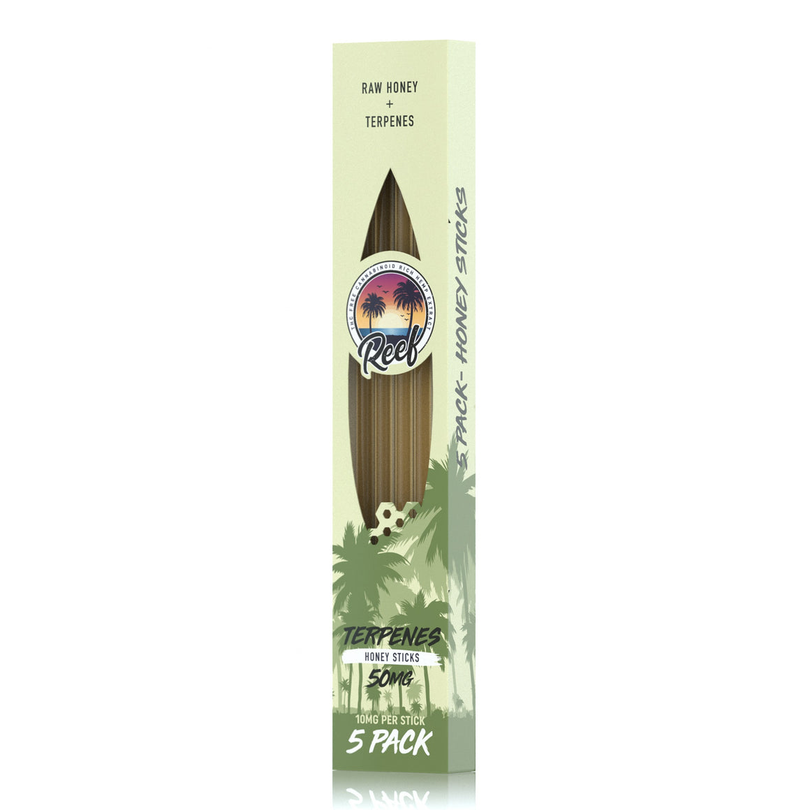 Reef CBD Natural Terpene Sticks - 5 Pack