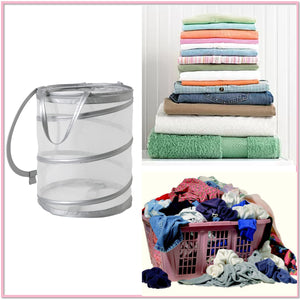 College Pop-Up Laundry Basket/Hamper - Boottique