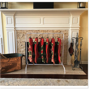 Free Standing Christmas Stocking Rack™ (includes 6 Boot Hangers) - Boottique