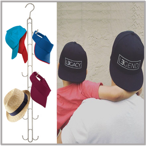 Cap Stax™ -  The Ultimate Vertical Organizer for Hats, Ball Caps, Visors and Accessories - Boottique