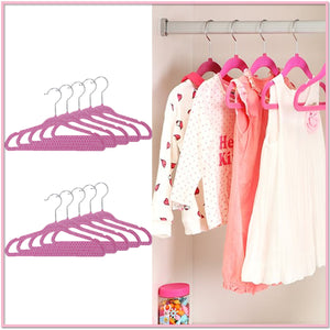 Children's Velvet Hangers (Set of 10) - Boottique