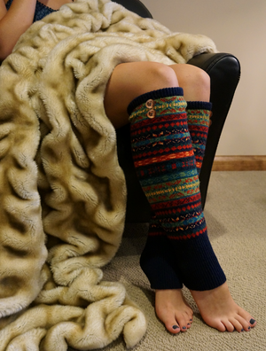 Boot Cozies™ Alpine/Nordic Leg Warmers/Thigh-Highs - Boottique