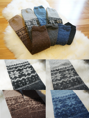 Boot Cozies™ Snowflake Leg Warmers - Boottique