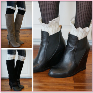Boot Cuffs™ Toppers for Boots - Boottique