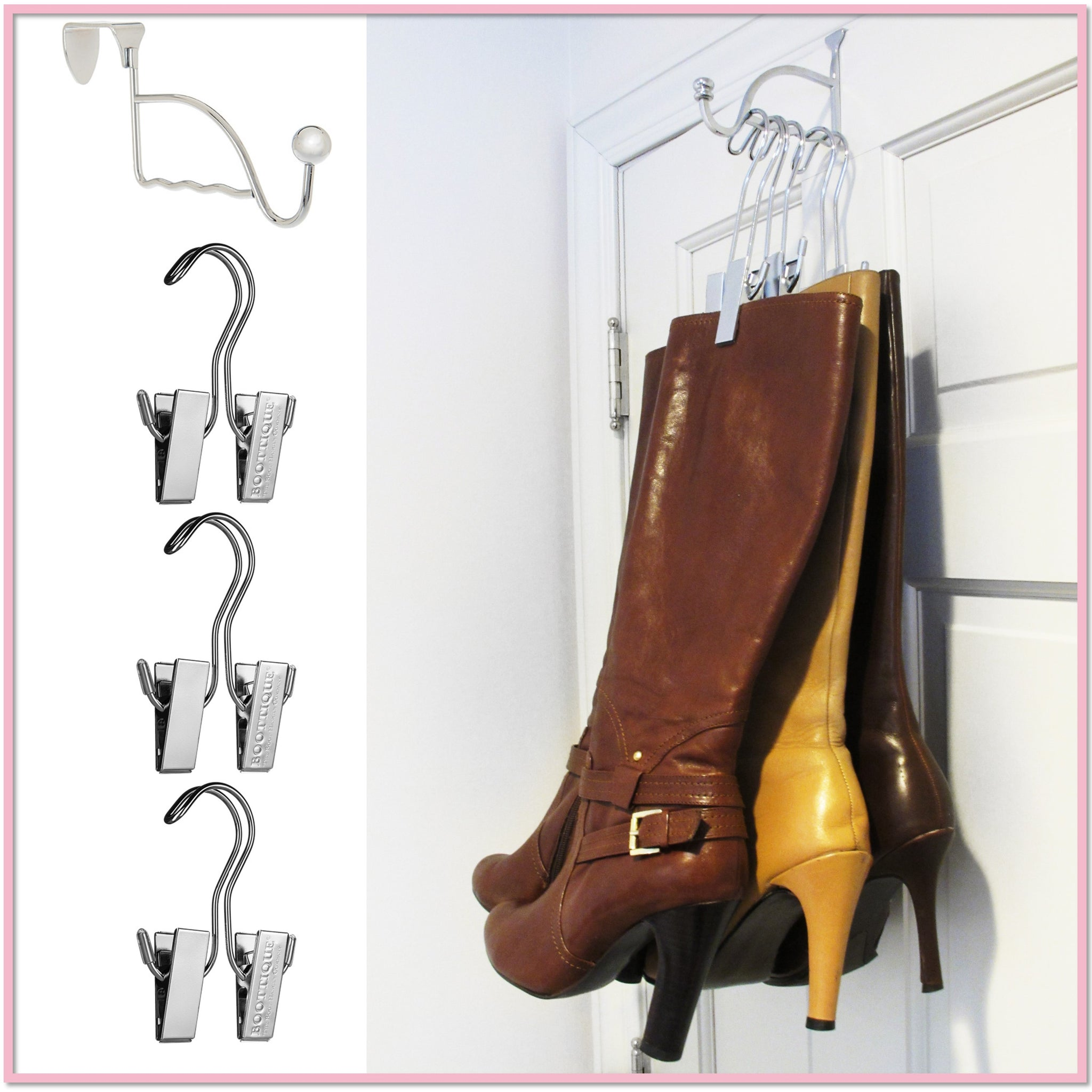 25b8a16a44 The Boot Valet™ (Includes 3 Boot Hangers) - Boottique