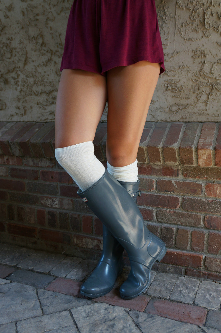 Luxe Legs™ Cable Knit Thigh-Highs - Boottique