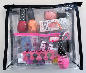Travel Accessories Mini Bag (Clear) - Boottique