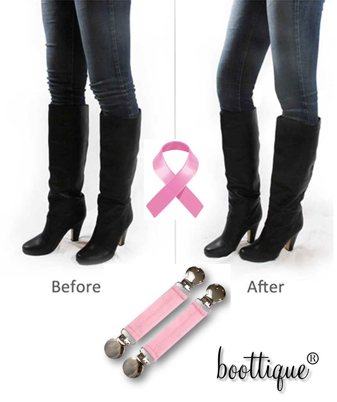 Go Pink! Boot Snugs™ - Boottique