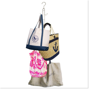 Purse Stax™ Purse Hanger -  Purse and Handbag Vertical Organizer - Boottique