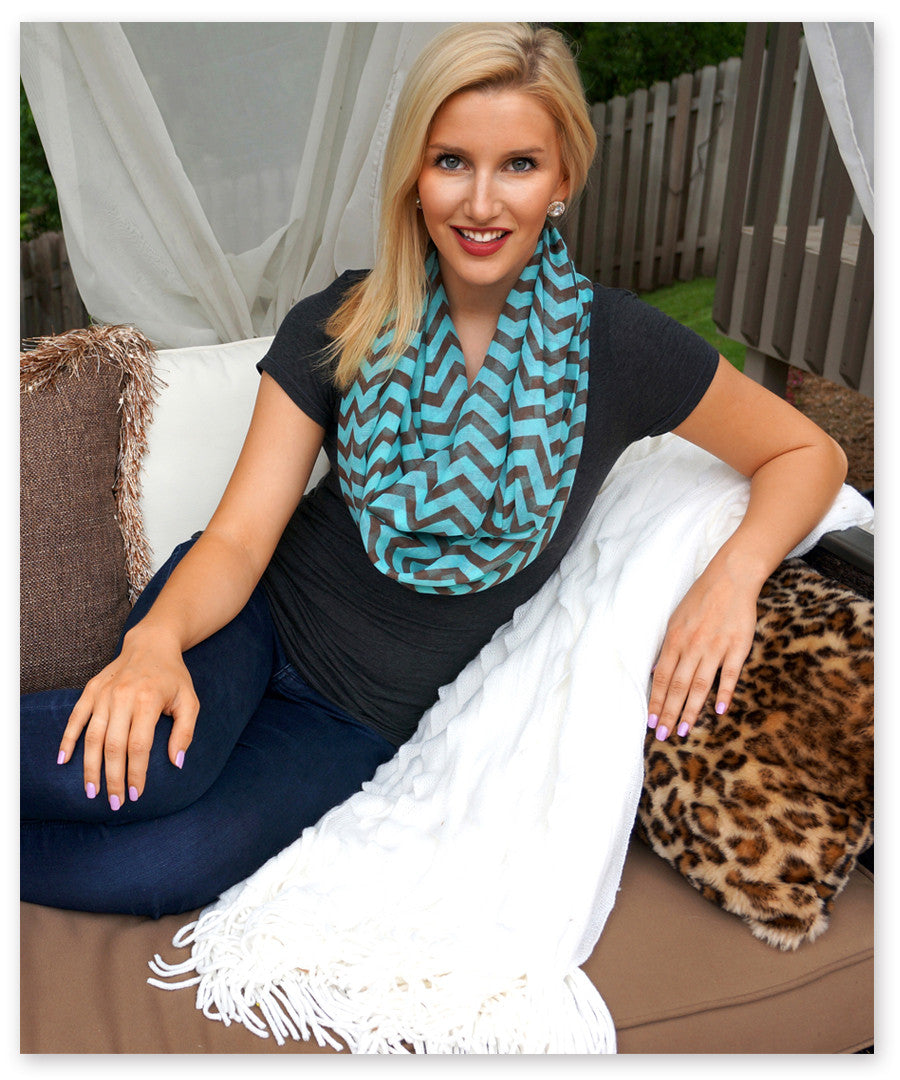 The Leyla Infinity Scarf™ - Boottique