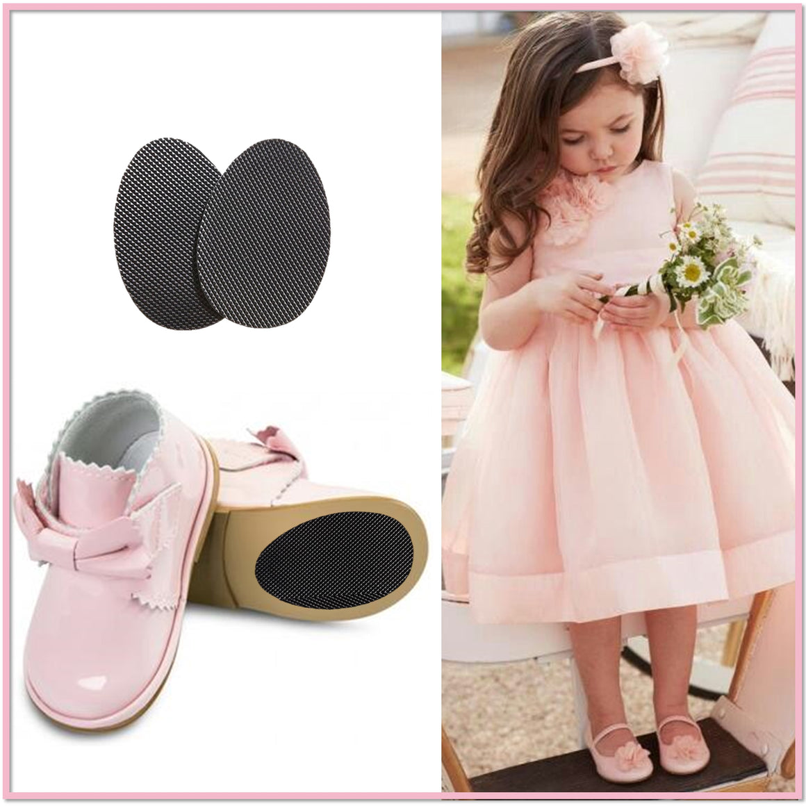 Sole Savers Juniors (3 Pair)- Sole Protectors for Kids, Juniors, and Small Adult Shoes - Boottique