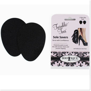 Sole Savers™ Anti-Slip Pads (3 Pair- One Size Fits Most) - Boottique