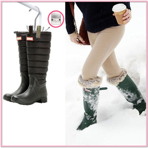 The Winter Boot Hanger (Set of 3) - for UGGs, Sorels, Muk Luks, Hunter and Duck Boots