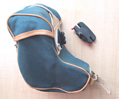 Berthoud GB786B (Banana) Saddle Bag: Gray