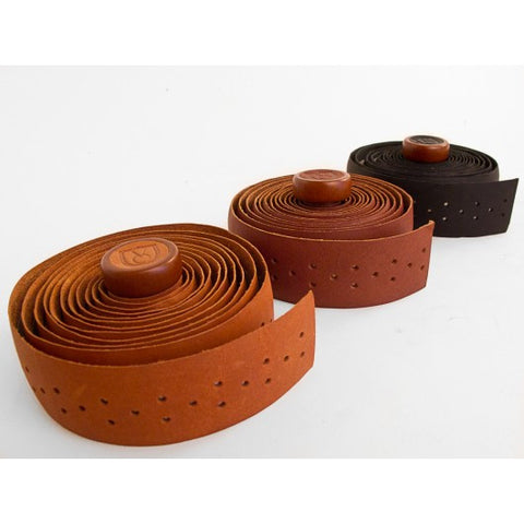 Handlebar Tape: Velo Orange: Leather Perforated