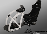 Luxsim24 AM Racing Simulator Silver Package