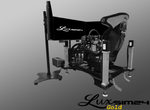 Luxsim24 PRO Racing Simulator Gold Package