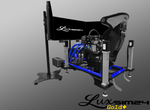 Luxsim24 PRO Racing Simulator Gold Plus Package