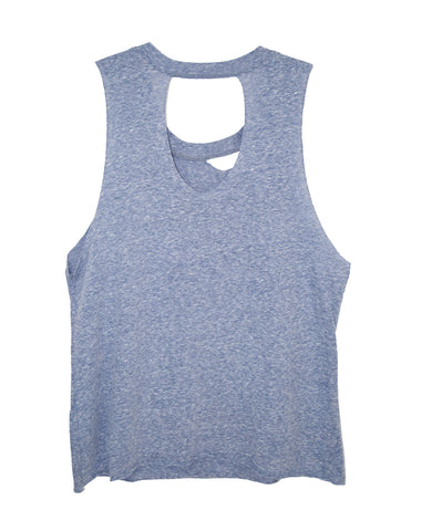 SUMMER NEVER TRI-BLEND TWEENS TANK