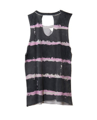 PINK STRIPES TWEEN TANK