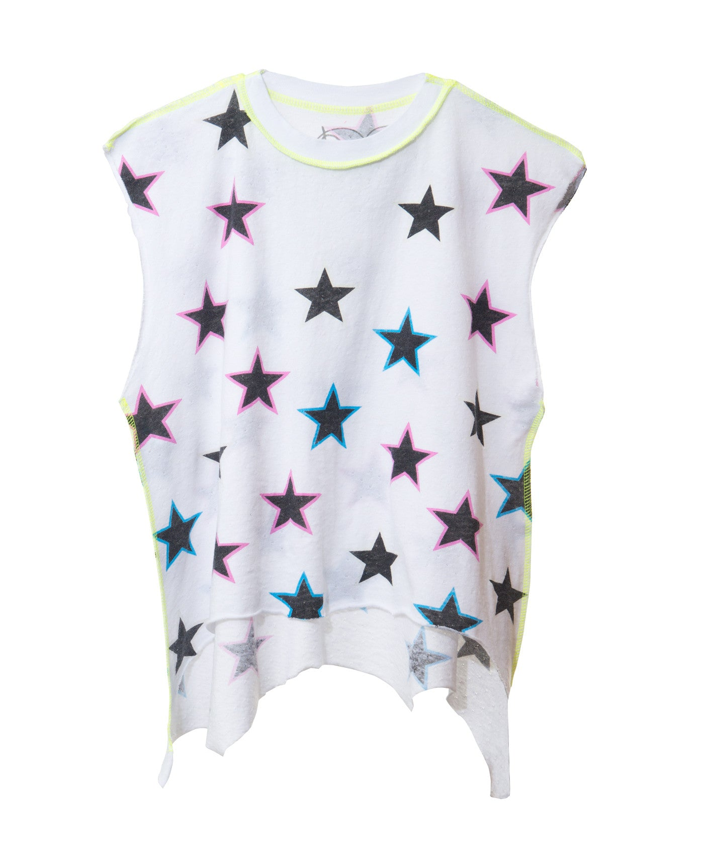ALL OVER STARS TWEENS MUSCLE TANK