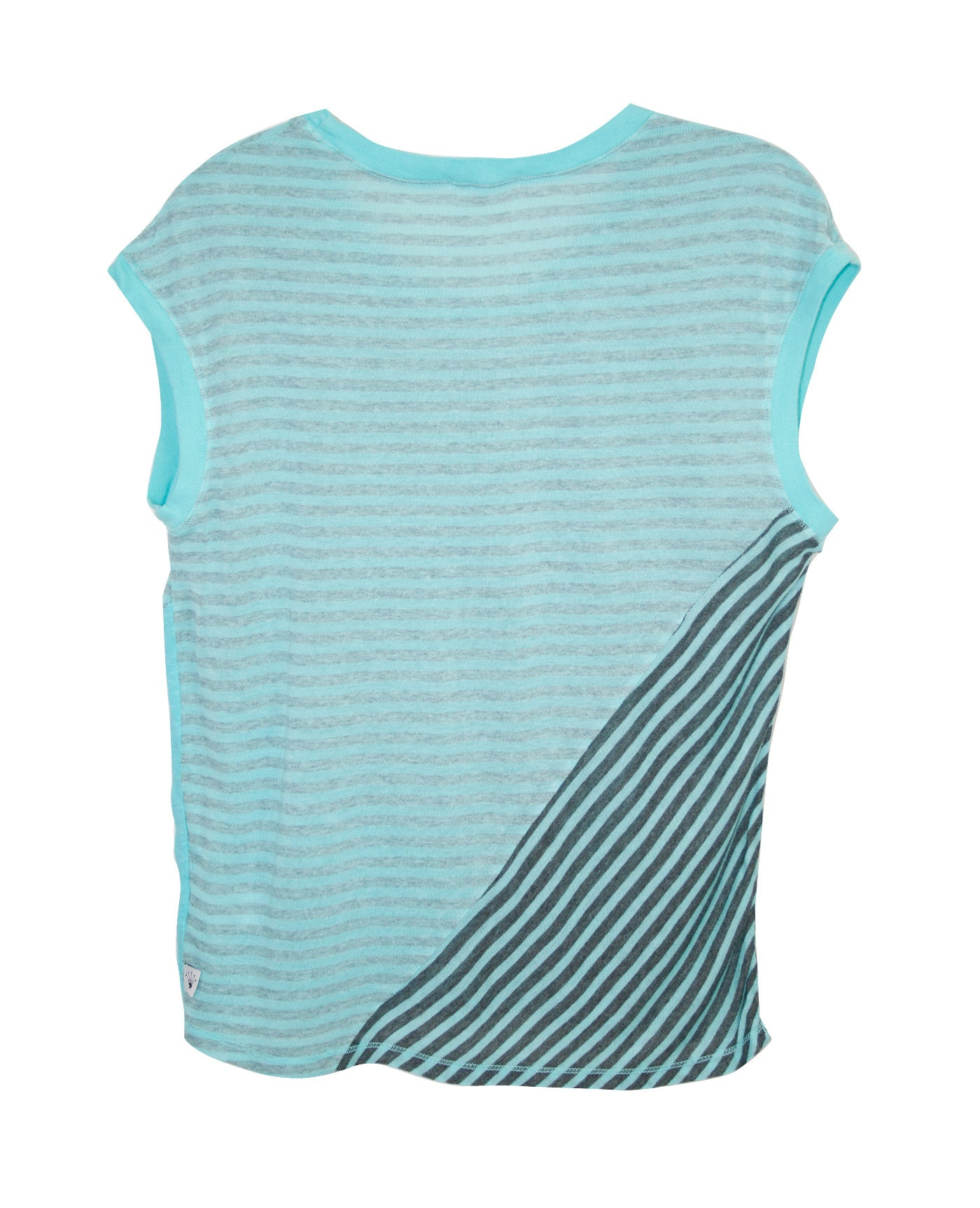 ASYMMETRICAL MIX MEDIA TWEENS TANK