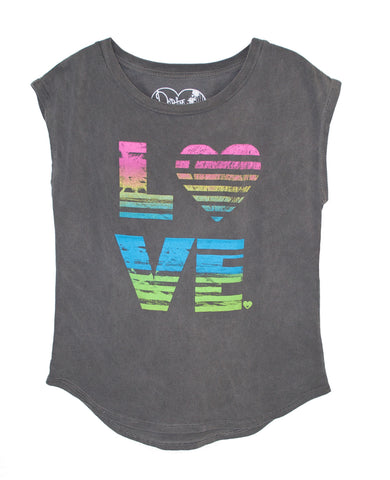 LOVE FRINGE TWEENS TANK