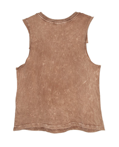 LEATHER AND LACE TWEENS TANK