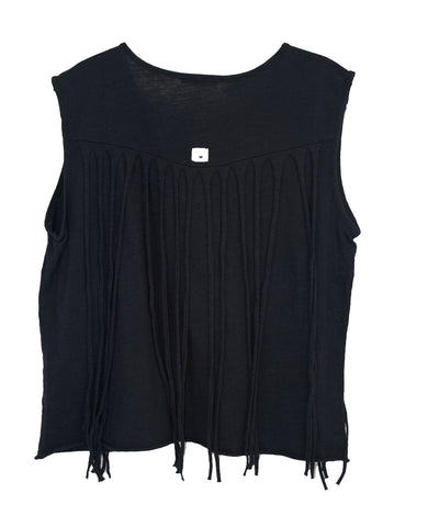 FLOWER FRINGE TWEENS TANK