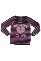 HEART BREAKER LONG SLEEVE TOP