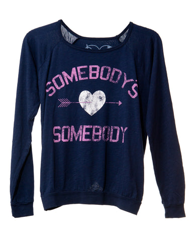 SOMEBODY TWEEN LONG SLEEVE T-SHIRT