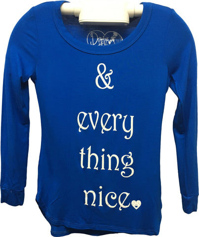 Every Thing Nice Tween Long Sleeve T Shirt