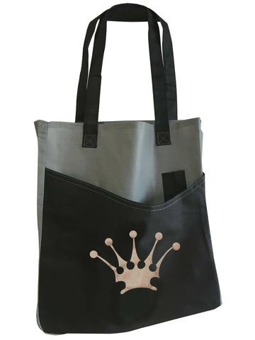 DIRTEE HOLLYWOOD POCKET TOTE BAG