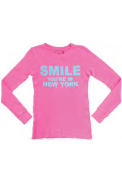 SMILE NEW YORK LONG SLEEVE THERMAL